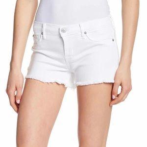 Hudson Jeans: Amber Raw Hem Shorts